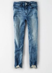 American Eagle high waisted stretch jegging crop